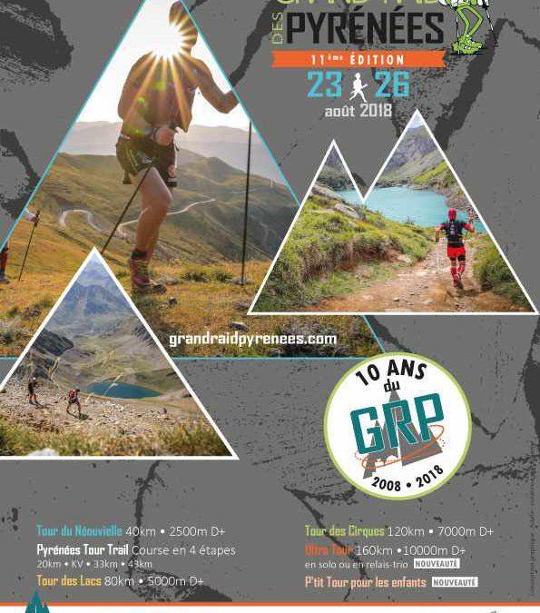 Grand Raid des Pyrénées du jeudi 23 au dimanche 26 aout