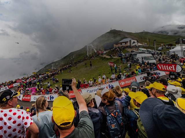Le Tour de France le mercredi 14 juillet 2021