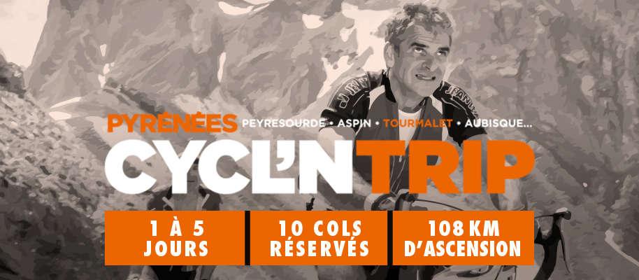 Cycl'ntrip : cols de Peyresourde, de Val-Louron-Azet et du Portet